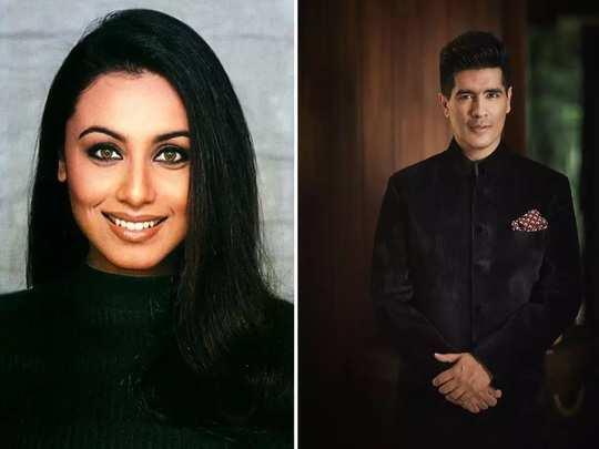 when manish malhotra used rani mukherjee mother mangalsutra for shooting scenes of the movie in marathi