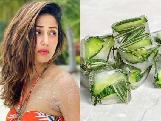 hina khan uses aloe vera cubes on her face know why you should too