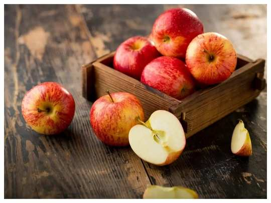 benefits of eating apples and when is it beneficial to eat in marathi