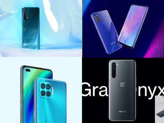 samsung galaxy m51 vs oppo f17 pro vs realme x3 vs oneplus nord: best new phone under 25000 rupees