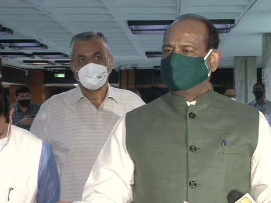 om birla reached parliament house to take stock of preparations for the monsoon session