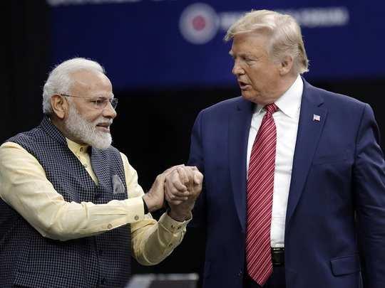 PM modi with Trump