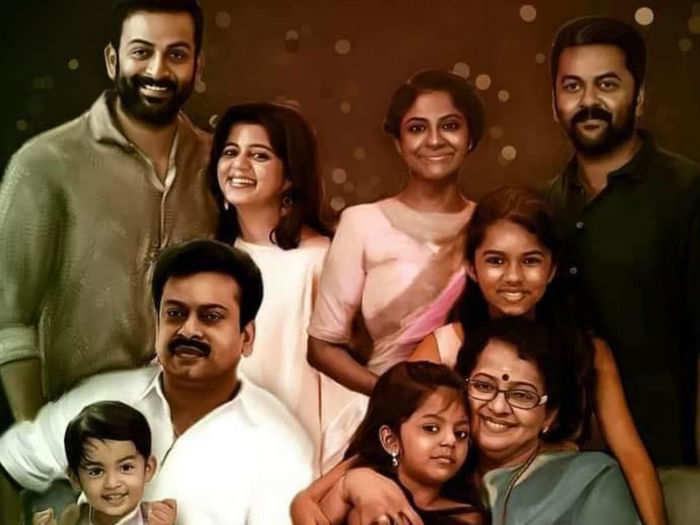 Sukumaran Family