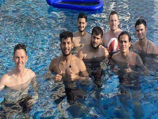 मुंबई इंडियन्सचे खेळाडू