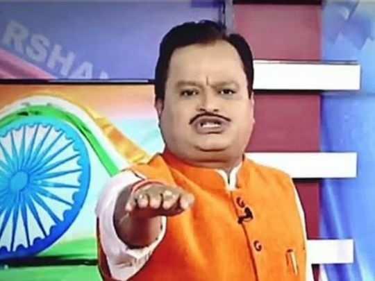 Suresh Chavhanke, Chairman of Sudarshan TV