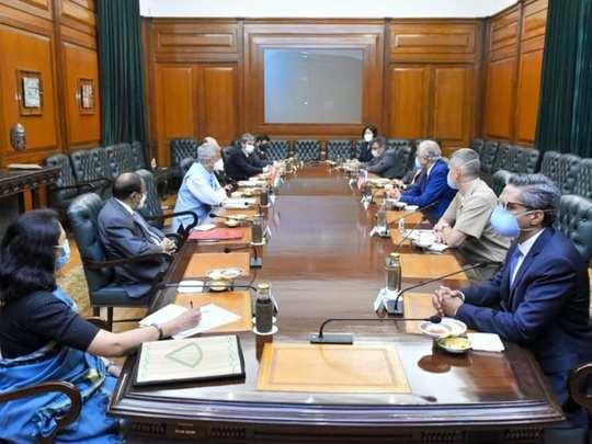 S Jaishankar Meeting