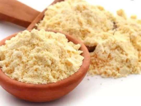 benefits of homemade besan face packs for skin in Marathi