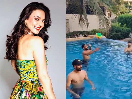 bollywood actress and kings xi punjab co owner preity zinta in quarantine in uae before ipl 2020