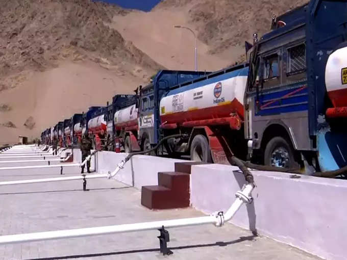 Many fuel tankers have already arrived