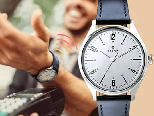 Titan Contactless Payment Functionality watch