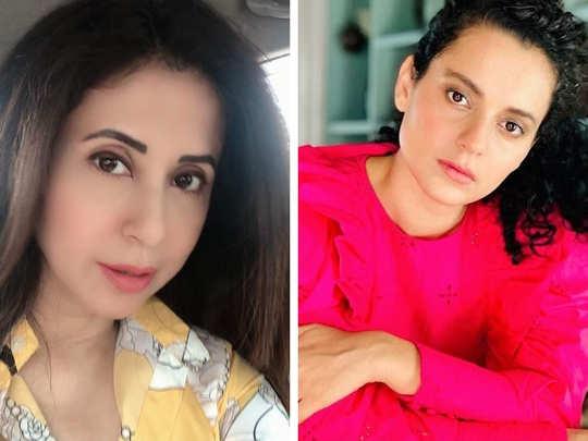 Urmila Matondkar And Kangana Ranaut