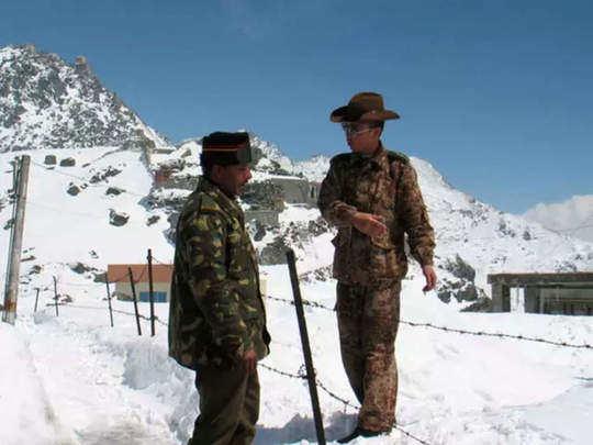 भारत चीन तणाव