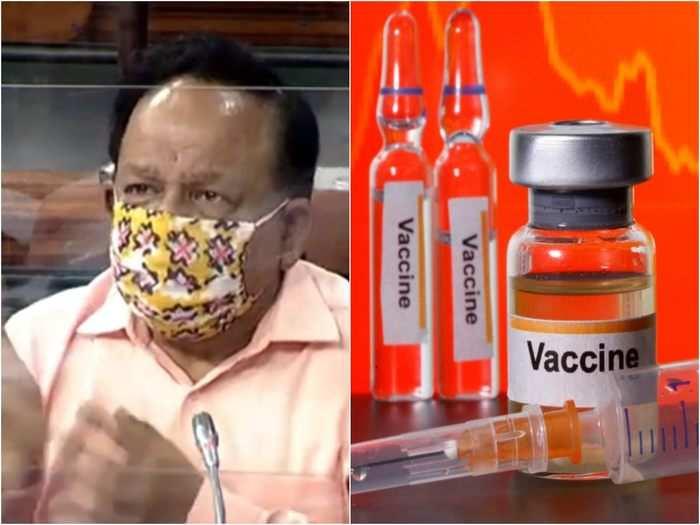 coronavirus vaccine available in india by next year health minister harsh vardhan in rajya sabha