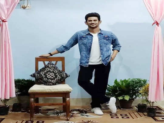 west bengal sculptor sukanto roy from asansol has created a wax statue of late actor sushant singh rajput