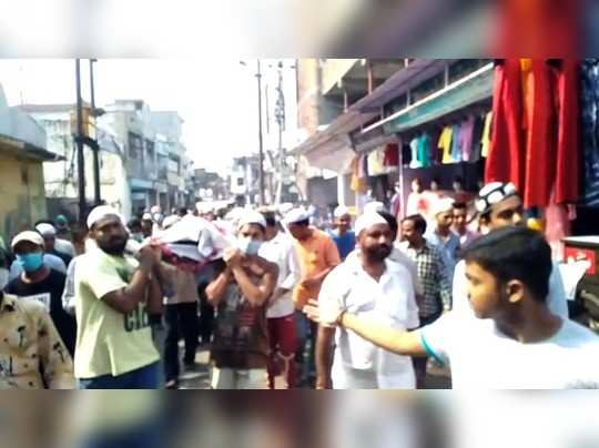 फिरोजाबादः गरीबों का मुफ्त इलाज करने वाले डॉक्टर के शव को मुस्लिमों ने दिया कंधा, राम नाम सत्य बोलते हुए ले गए श्मशान तक