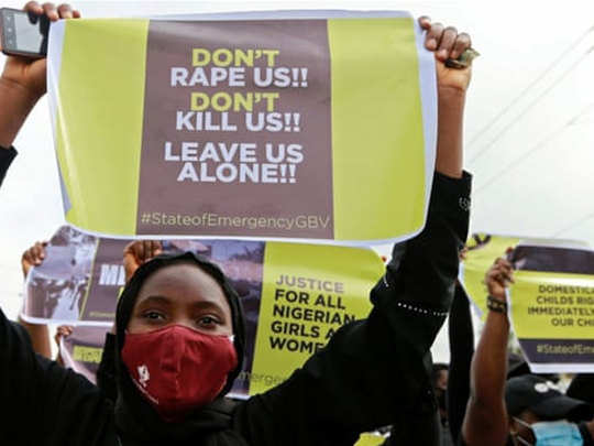Nigeria-protest-against-rape