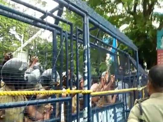 Alappuzha BJP KSU March