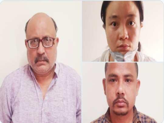 जासूस पत्रकार शर्मा गिरफ्तार