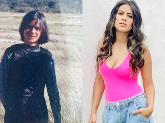 boldest actress nia sharma unseen childhood photos that surprised fans