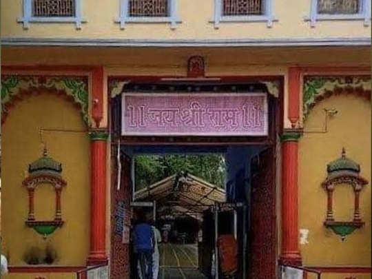 भक्तों के लिए खोला गया मंदिर
