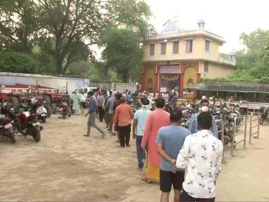 sankat mochan temple in varanasi re-opens for devotees after 183 days