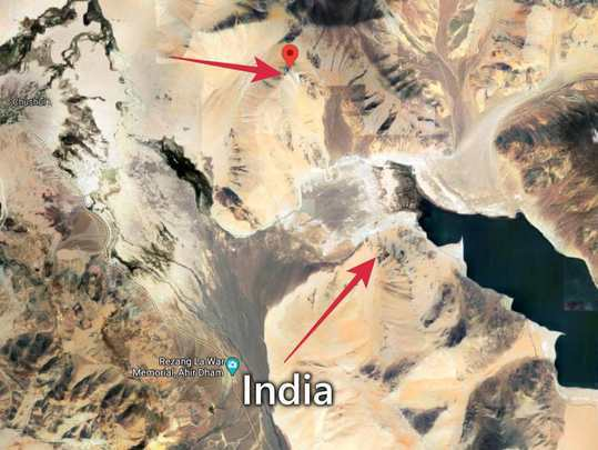 India-China-LAC-Rezang-La