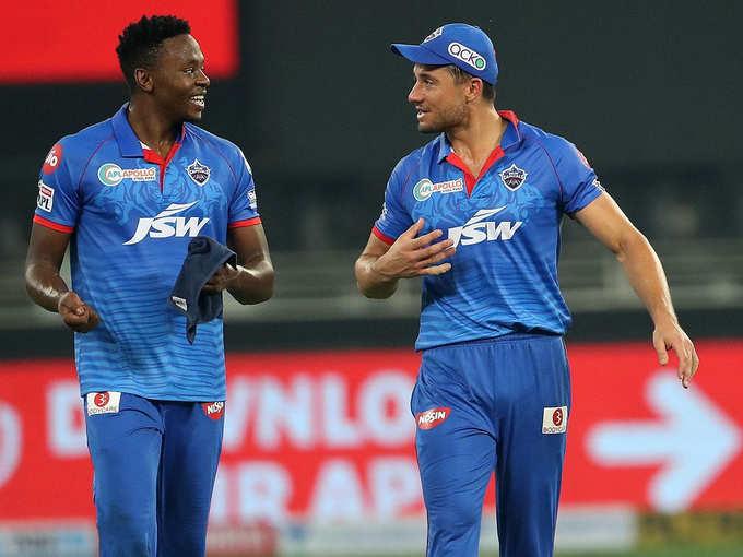 दिल्ली की सुपर डुपर जीत, रबाडा-स्टॉयनिस ने किया कमाल