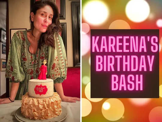 kareena kapoor 40th birthday bash pictures parties with her family
