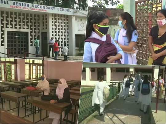 school reopened from today in selected states amid coronavirus scare