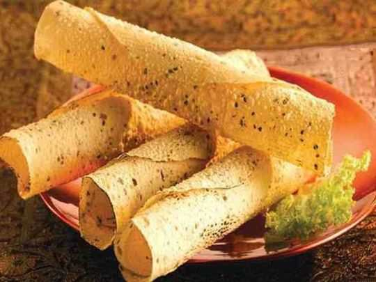 health benefits of eating papad you should know in marathi
