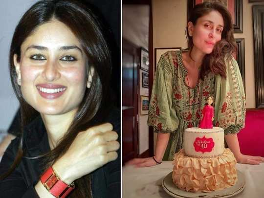 Bollywood actress kareena kapoor fashion transformation from year 2000 to year 2020 in Marathi