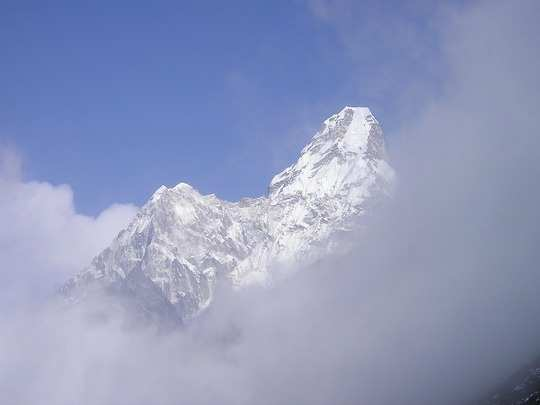 Everest in Himalayas