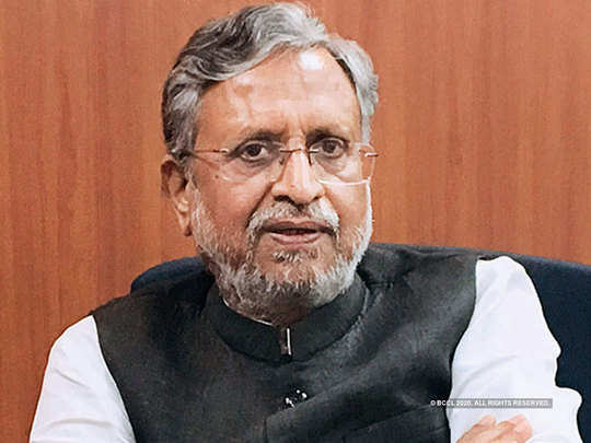 bihar assembly elections 2020: sushil kumar modi profile know all about senior bjp leader