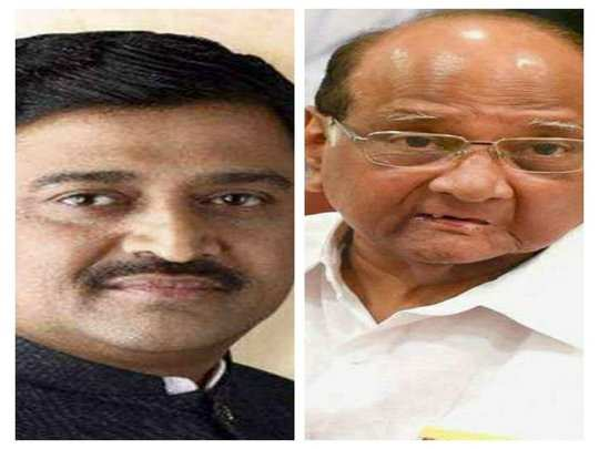 ashok chavhan meets sharad pawar