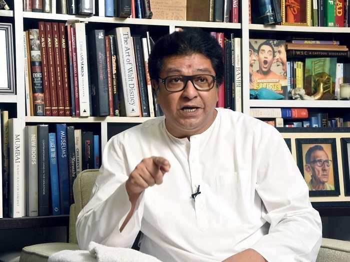 MNS chief Raj Thackray.