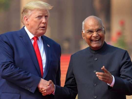 Trump and President Kovind 01