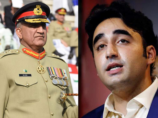 general bajwa vs bilawal bhutto
