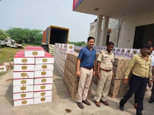 Rajasthan: पकड़ी गई एक करोड़ की शराब, पंचायत चुनाव में खपाने की थी तैयारी !