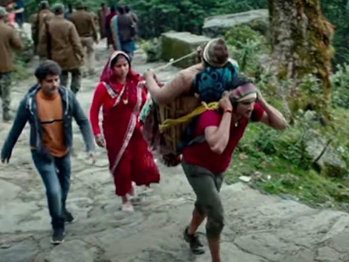 sushant movie Kedarnath