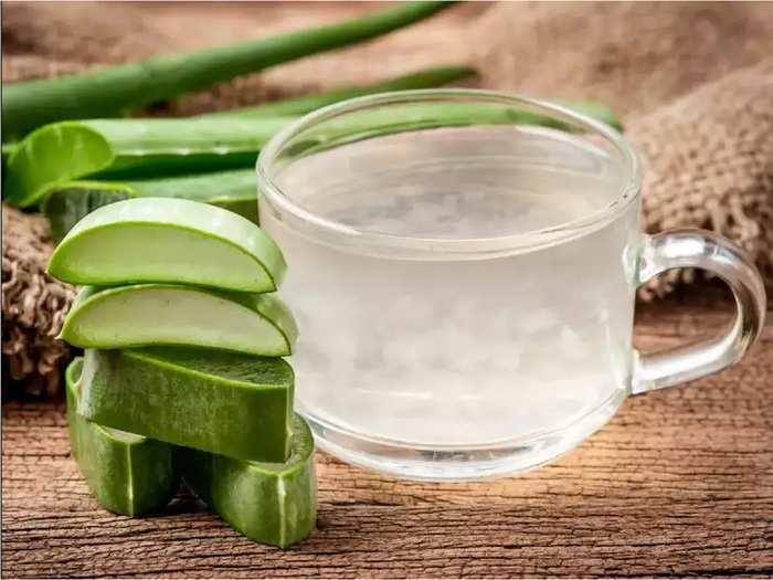 skin care tips benefits of applying aloe vera gel on face overnight in marathi