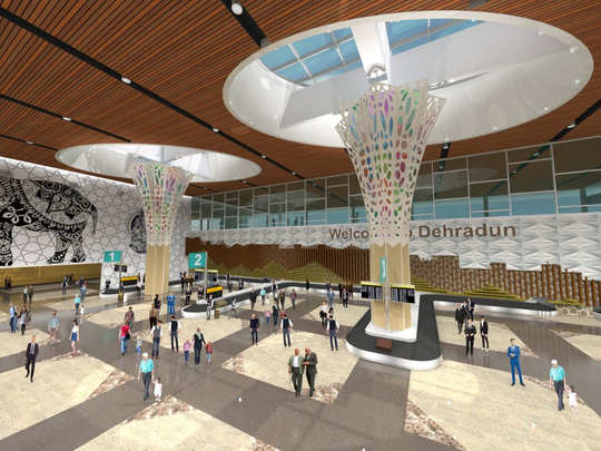 dehradun airport gearing up for a makeover and enhanced capacity