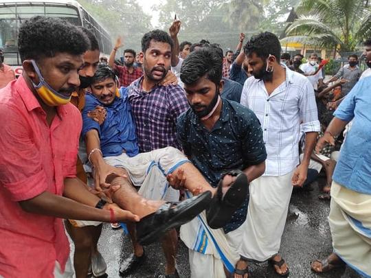 kerala protest