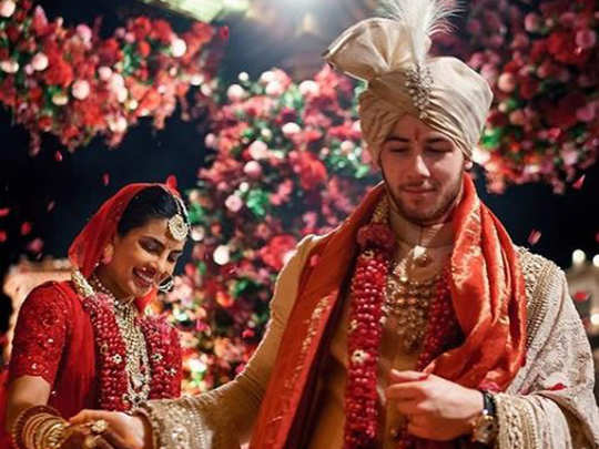 Marriage of nick jonas and priyanka chopra
