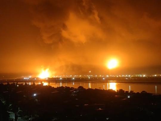 surat ongc plant fire