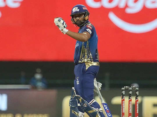 ipl 2020 rohit sharma hit six sixes in abu dhabi match against kolkata knight riders