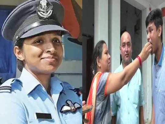 first rafale woman fighter pilot shivangi singh family celebrates in varanasi