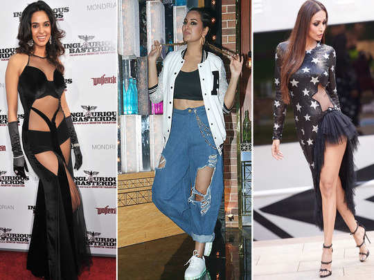 from mallika sherawat to malaika arora and anushka sharma bollywood actresses clothes which made us wonder what were they thinking