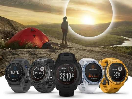 Garmin Solar Smartwatches