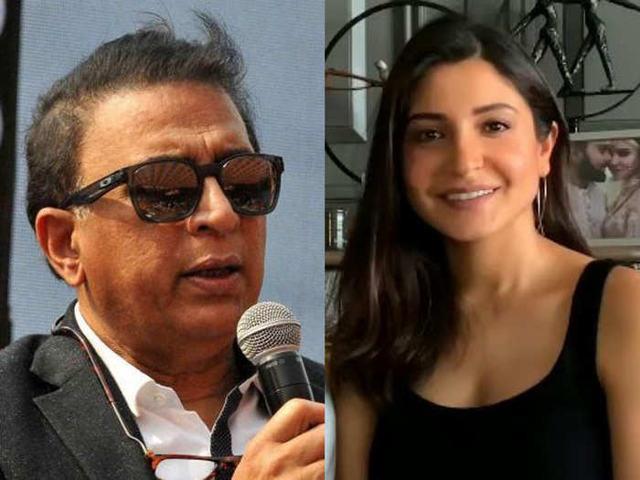 sunil gavaskar responds to anushka sharma after controversy of commentary during kxip vs rcb match ipl 2020