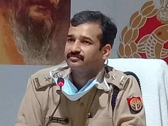 एसपी ने आरोपी दारोगा के खिलाफ की कार्रवाई